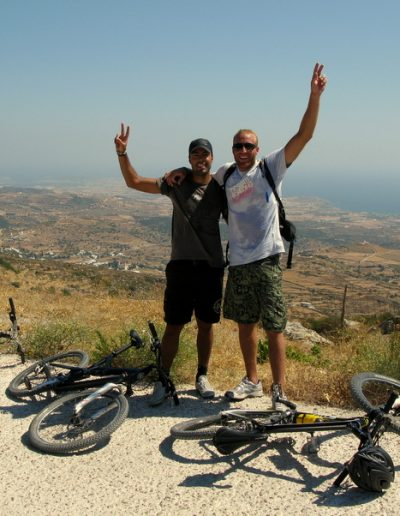 Mountain bike guided tours @ Lefkes Village
