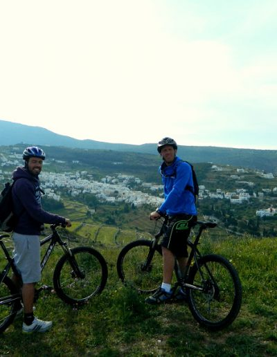 Mountain Bike Tours @ Lefkes Village