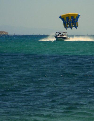 Fly fish ride @ Punda Beach